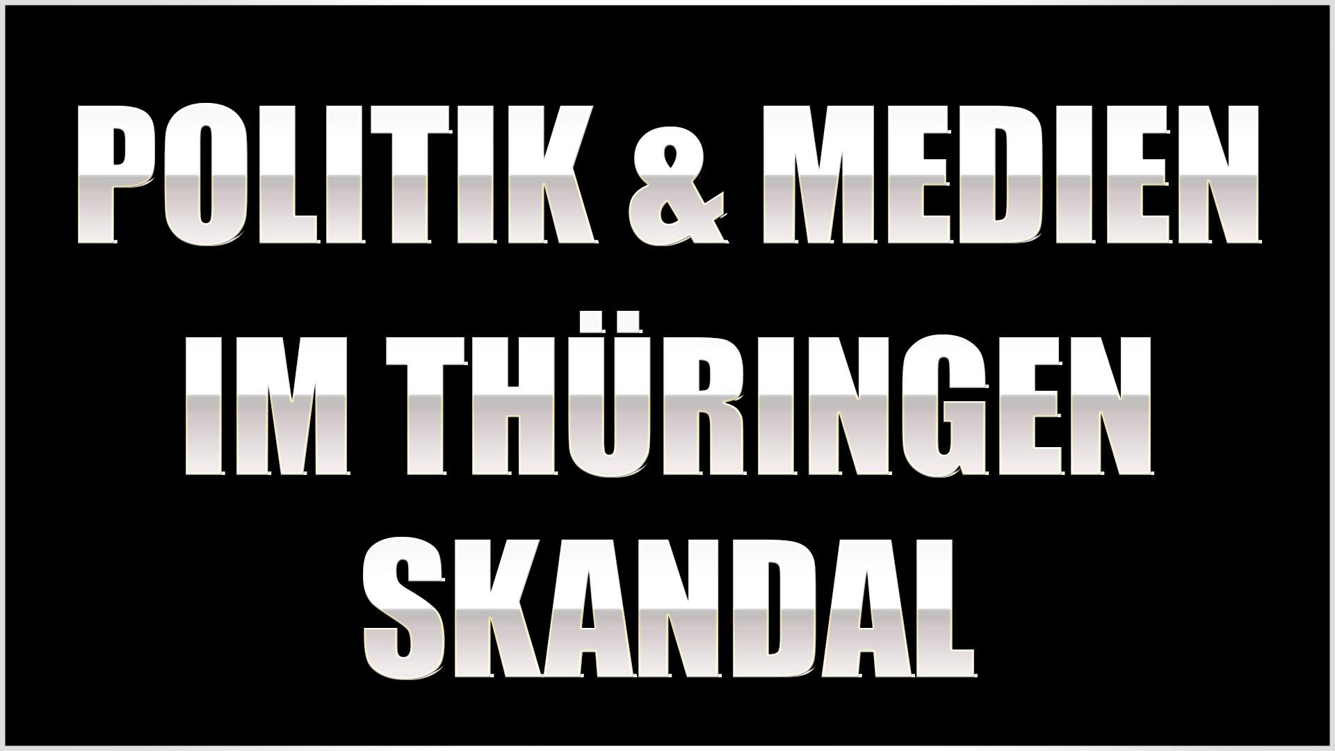 politik und medien thüringen ministerpräsident